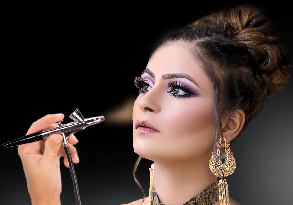 Utilizing Airbrush Makeup For A Wedding